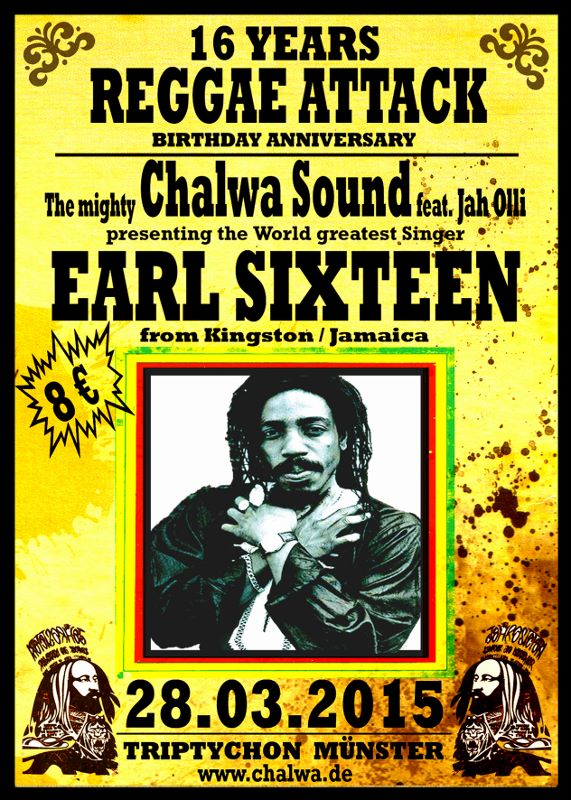 Earl Sixteen* Earl 16 - Trample Babylon / Foot Of The Mountain